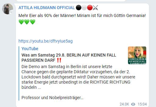 attila_hildmann_werbung_fuer_goettin_germania_miriam_hope_kontrollierte_opposition_jdn_006