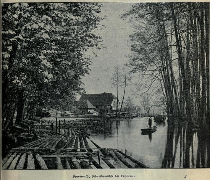 Spreewald-Schneidermühle-bei-Lübbenau